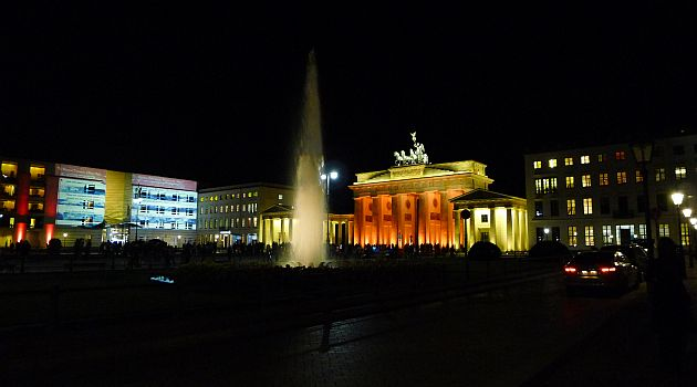 Brandenburger Tor am 19.10.2011