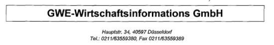 Gewerbeauskunftsgutschrift2 550x92 Die Gutschrift der Gewerbeauskunftszentrale