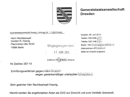 eAkte aus Sachsen 01 550x412 Akteneinsichtsantrag und ZACK!