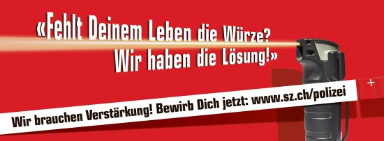 KaPo Schwyz 550x203 Jobangebot für Pfeffersprayer