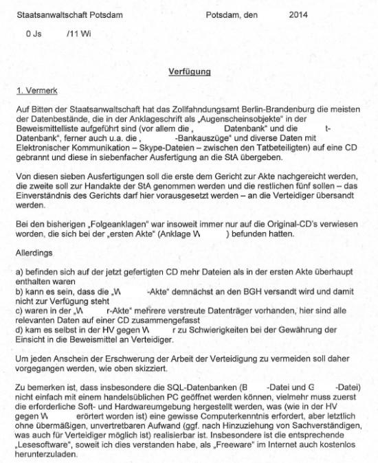 StA Potsdam 4 550x674 Wirksame wüste Beschimpfungen