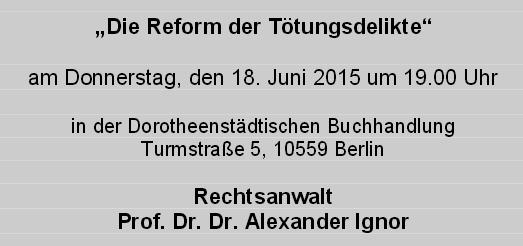 Fortbildung 18.06.2015
