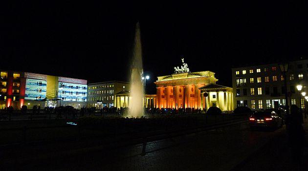 Brandenburger Tor am 19.10.2011